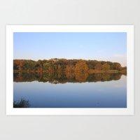 Wisconsin in Autumn Art Print