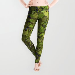 Blueberry Bushes Leggings
