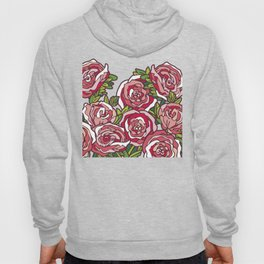 Valentine's Red Roses Hoody