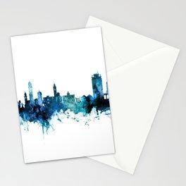 Lugano Switzerland Skyline Stationery Cards
