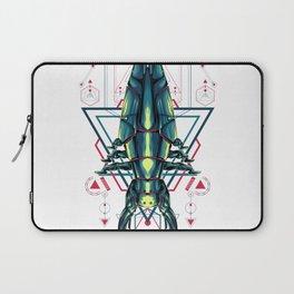 Space Ship sacred geometry Laptop Sleeve