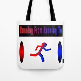 The Runner's Spectrum Tote Bag
