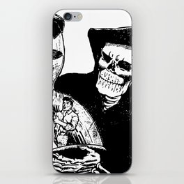 The Reaper's Time iPhone Skin