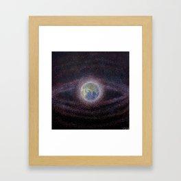 Space Debris Framed Art Print