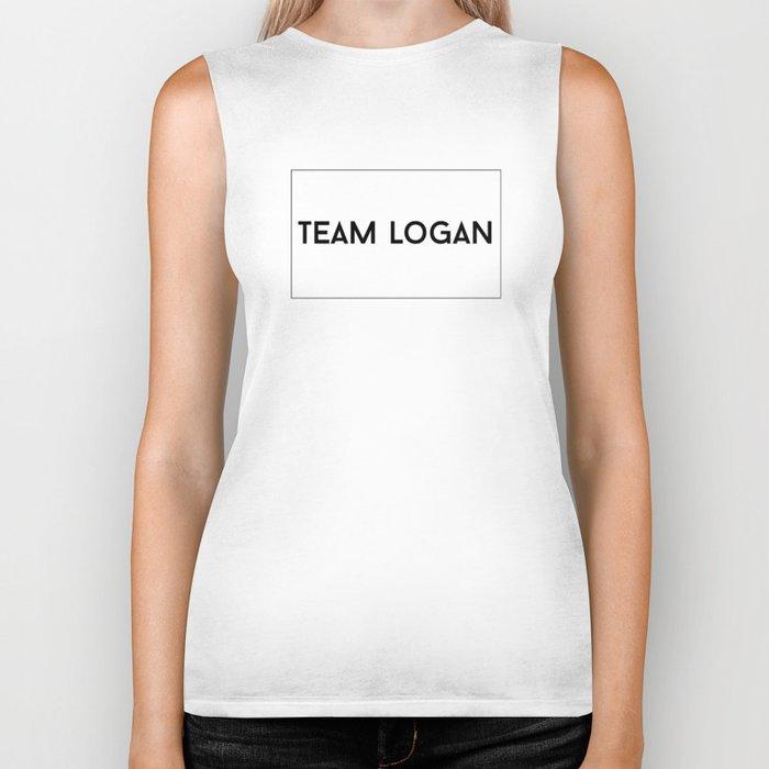 Team Logan Biker Tank
