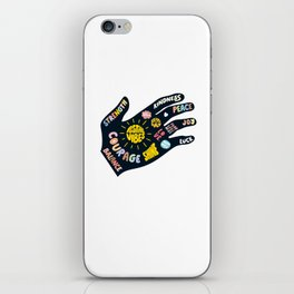 Positivity – Helping Hand iPhone Skin