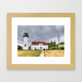 Chatham Light, Cape Cod Framed Art Print