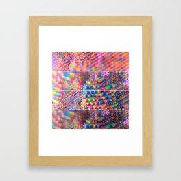 Explosive Popcorn Gum Framed Art Print