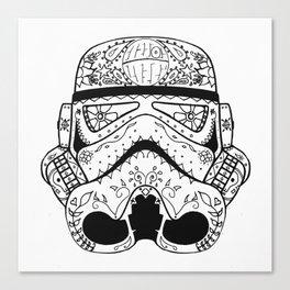 Dia De Los Troopers Canvas Print