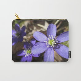 Wild and Blue Carry-All Pouch