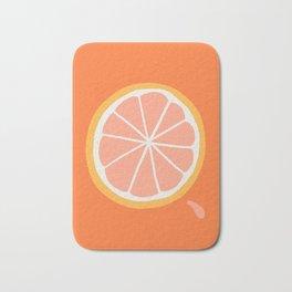 Grapefruit Slice Bath Mat