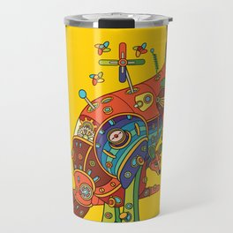 Kangaroo, cool wall art for kids and adults alike Travel Mug