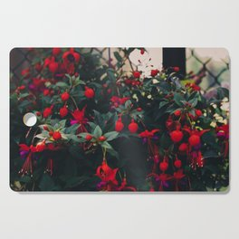 Thunder and Flowers Cutting Board