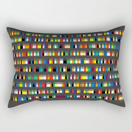 Color by Number: Pi Rectangular Pillow