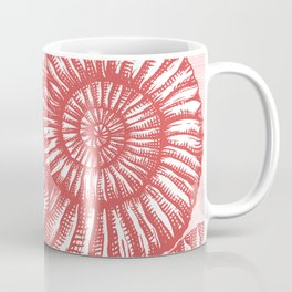 AMMONITE COLLECTION RED Coffee Mug