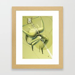 De los vuelos | Of flights { n°_ 005 } Framed Art Print