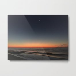 Sunrise North Topsail Island, NC #NorthTopsailIsland #TopsailIsland God Sky Art  Metal Print