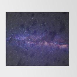 Summer Shore Galaxy Throw Blanket