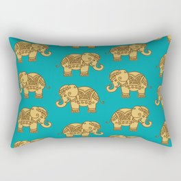 Elephant Pattern Rectangular Pillow