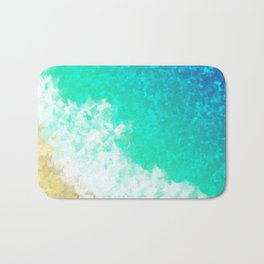 As The Waves Wash Over Me Bath Mat
