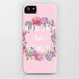 DO NO HARM iPhone Case