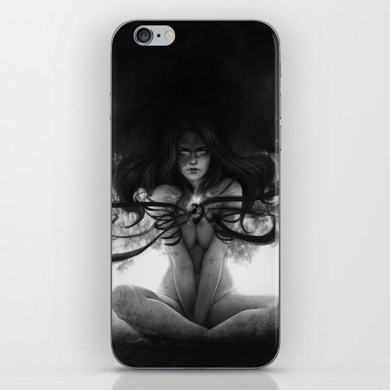 Light in the night iPhone & iPod Skin