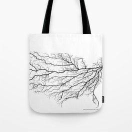 Highways of America Tote Bag