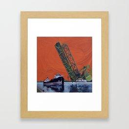 Gauron Jackknife Bridge Framed Art Print