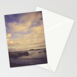 Her Dreams Stretched as Far as the Sea Was Wide Stationery Cards