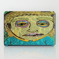 cigarettes iPad Cases featuring cigarettes and food  by Samantha Sager