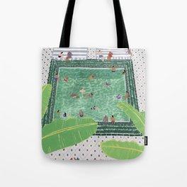 Green Riad Tote Bag