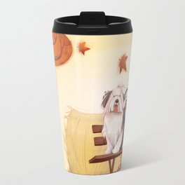 Wind of October Travel Mug