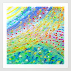 Sparkle Abstract Art Print