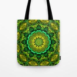 Blooming Forest Guardians Mandala Tote Bag
