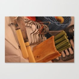Toast time with Jam Canvas Print