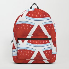 Red Watermelon Pattern Backpack
