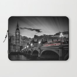 LONDON Westminster Bridge at Sunset | Colorkey Laptop Sleeve