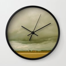Flatlands  Wall Clock