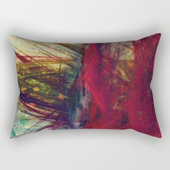 Fractal zen Rectangular Pillow