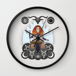 Silver Springs: An Homage to Myrtle Snow Wall Clock