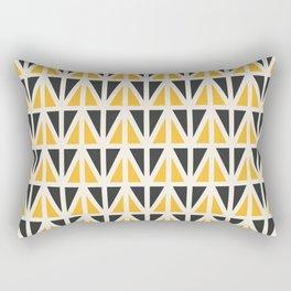 Sunny Triangles Rectangular Pillow