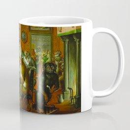 Tabakskollegium by Abraham Teniers (mid-17th century) Coffee Mug