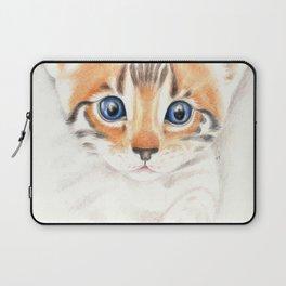 Cute Bengal Kitten on The Prowl Laptop Sleeve