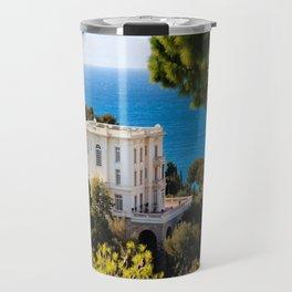 Villa La Vigie in Monte-Carlo Monaco Travel Mug