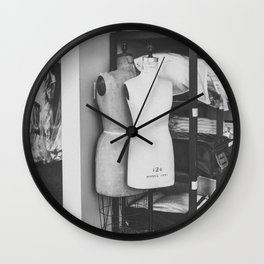 mannequin Wall Clock