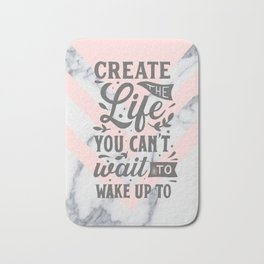 Create The Best Life Bath Mat