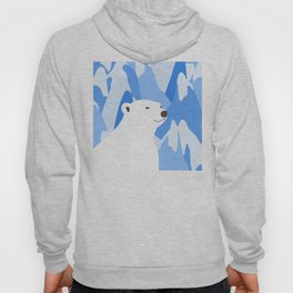 Polar Bear In The Cold Design Hoody