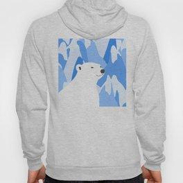 Polar Bear In The Cold Design Hoody