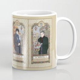 Sherlock Victorian Language of Flowers Four Seasons Coffee Mug