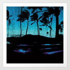 Hawaii Lap Art Print
